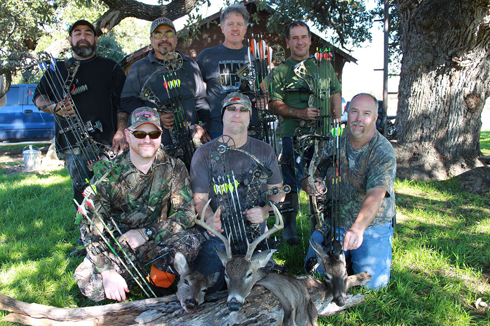 deer bow hunting texas